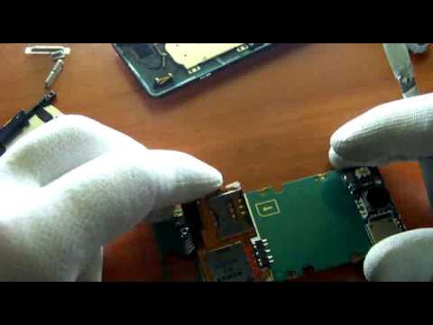 How to assembly,disassembly Sony Ericsson K770 montaż/demontaż