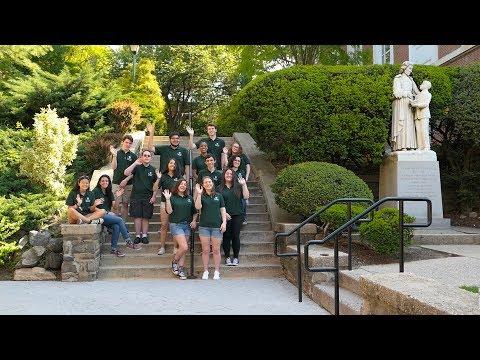 Orientation at Manhattan College