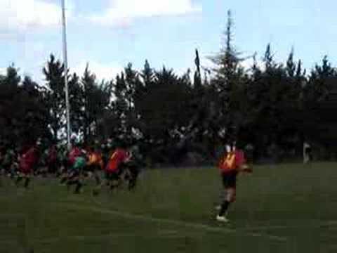 Molongo jugando al rugby seleccion española