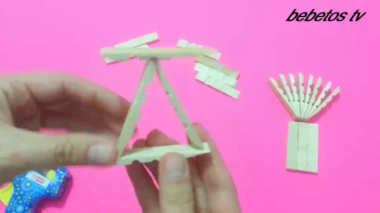 Mandaldan Minyatür Sandalye Yapımı