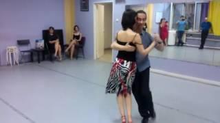 Урок №3 Танго Милонга