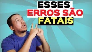 AFILIADO INICIANTE  3 ERROS FATAIS QUE OS INICIANTES DO MARKETING DE AFILIADO COMETEM