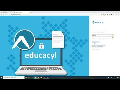 Entrar Educacyl por web IES y Outlook