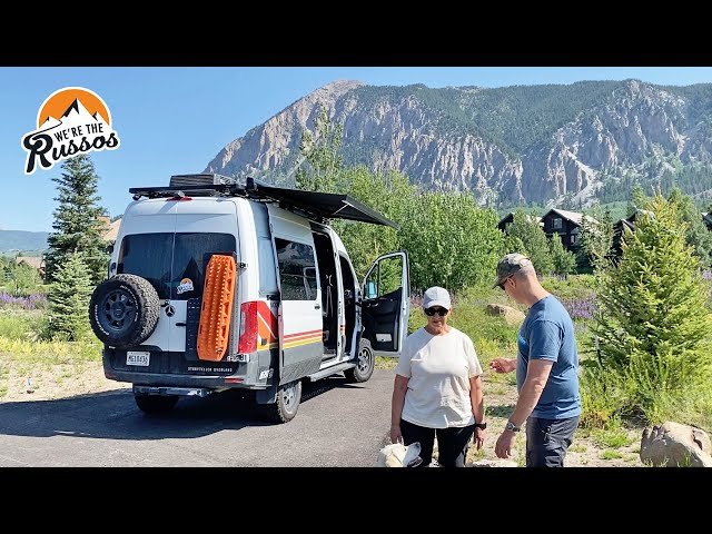 Challenges at Higher Elevation | Summer with Mom Van Life Road Trip Episode 3