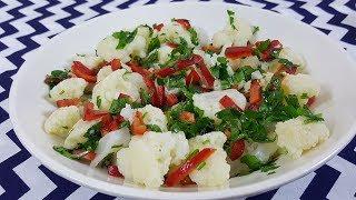 Karnabahar Salatası Tarifi ve Malzemeleri