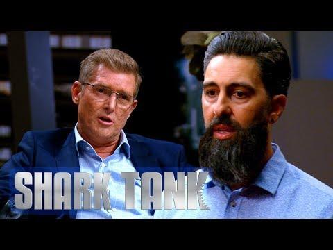 Glen Intimidates Entrepreneur Into Investment   Shark Tank AUS