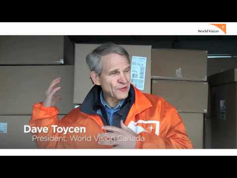 World Vision Canada's Dave Toycen reports from Japan