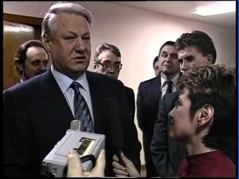 Ельцин в Нижнем Новгороде  1995 г