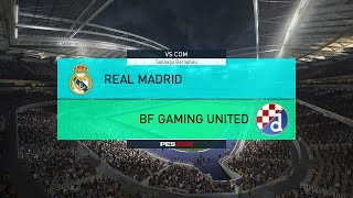 PES 2018-Can we beat Real Madrid,once?