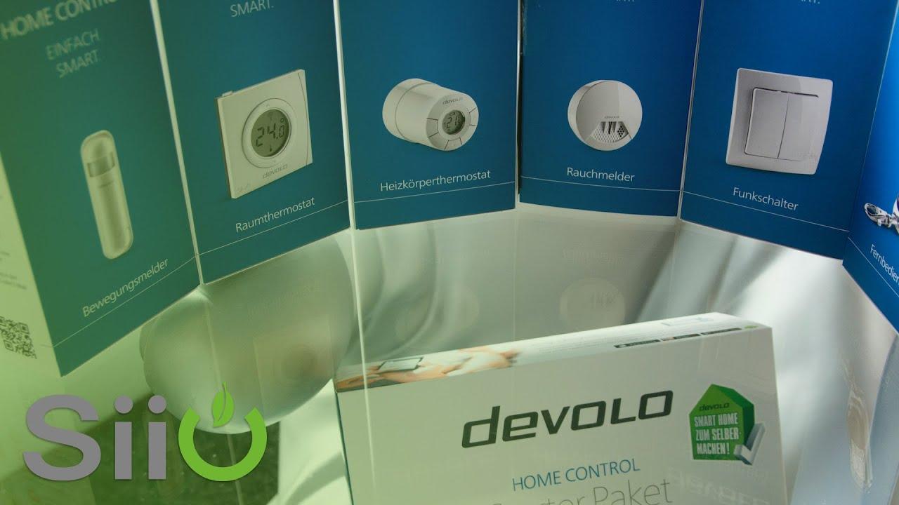 devolo home control teil1 starterset danfoss heizungsthermostat installation einrichtung. Black Bedroom Furniture Sets. Home Design Ideas