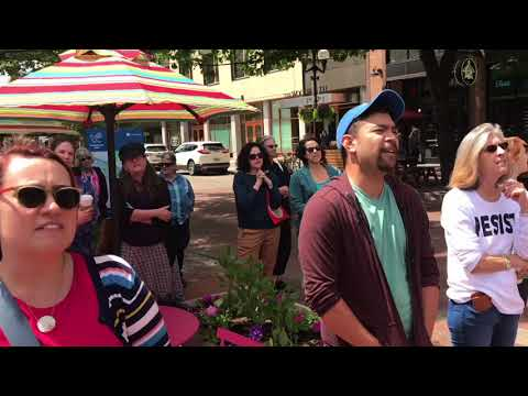 Families Belong Together Rally And March - Eugene, OR, June 14, 2018