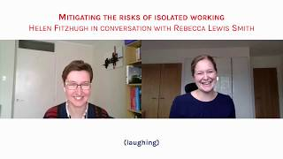 Image for vimeo videos on Short Clips: Helen Fitzhugh on Mitigating the Risks of Isolated Working | CultureShock