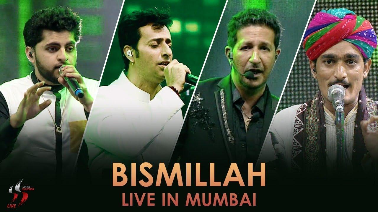 Bismillah Salim Sulaiman Live Jubilee Concert Mumbai Youtube