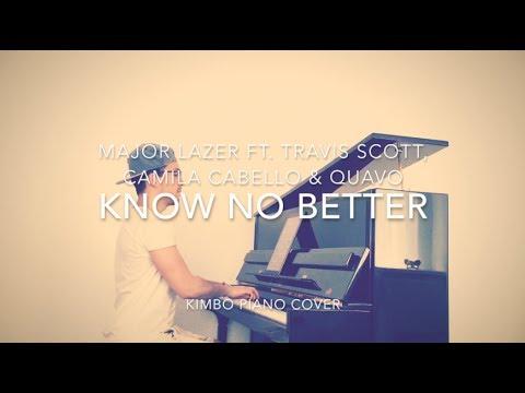 Major Lazer ft. Travis Scott, Camila Cabello & Quavo - Know No Better (Piano Cover + Sheets)