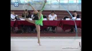 Шымкентские гимнастки не вошли в тройку лидеров