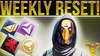 Destiny 2. WEEKLY RESET! (10-17-2017) Prestige Raid, Nightfall, Exotic Ship, Powerful Gear, & More!