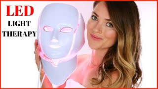 LED Red Light Anti-Aging Mask for Wrinkles | Does it work? Benefits of using Infra-Red LED