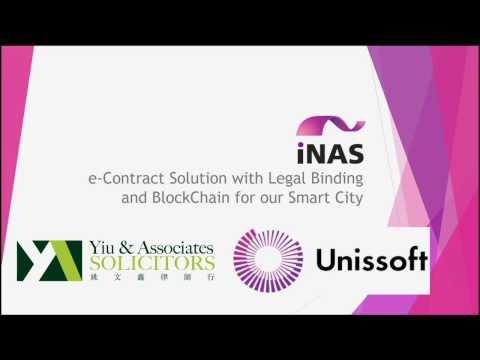iNAS SmartContract Demo