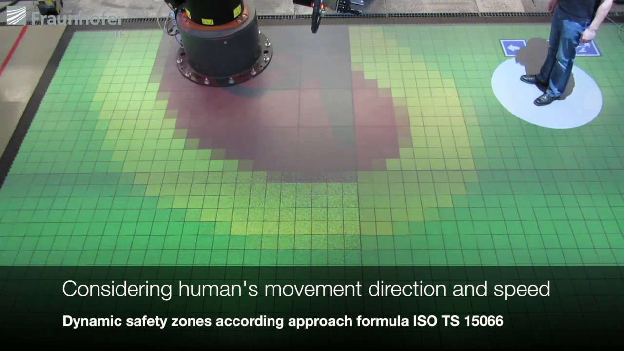 SAPARO Safe Human-Robot Cooperation with high payload robots in industrial  applications