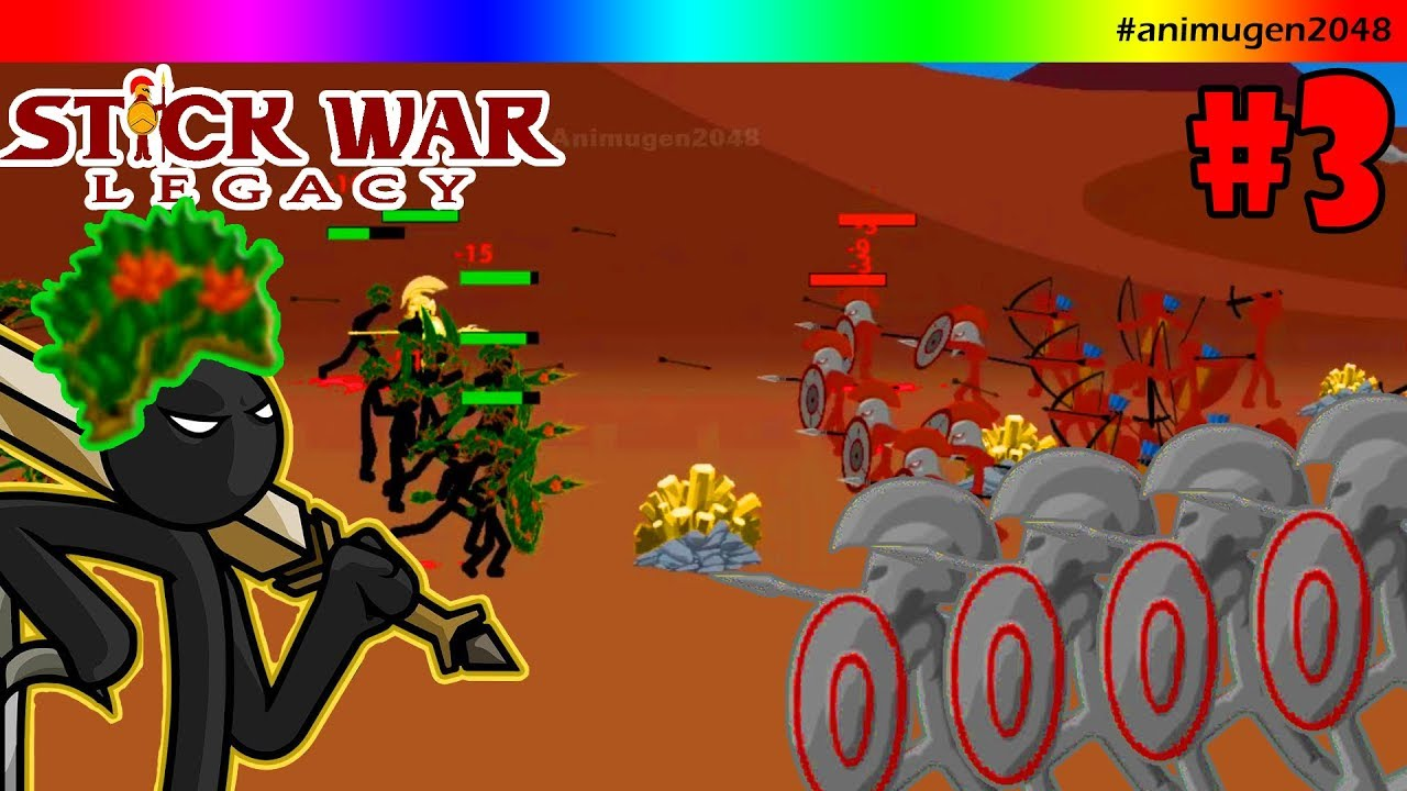 49 86 Mb Stick War Legacy Mod Skin Leaf All Army Ep3 Android