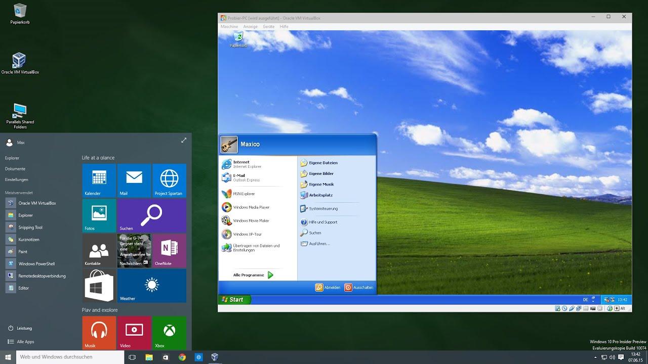 Windows XP Modus auf Windows 10 PC installieren ...