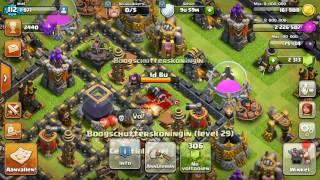 Clash of Clans - Gemming Queen To Max!! Boogschutterskoningin Max Level Voor Stadshuis Level 9 🎉