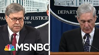 Robert Mueller Contradicts Both Trump And AG Barr On Russia Investigation | The 11th Hour | MSNBC