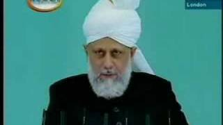 Friday Sermon by Khalifatul-Massih - September 12, 2008 - 6/6