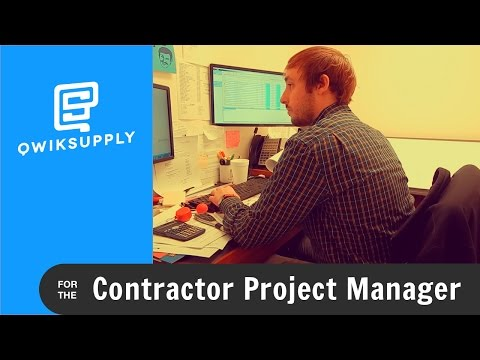 Qwiksupply For The Contractor Project Manager