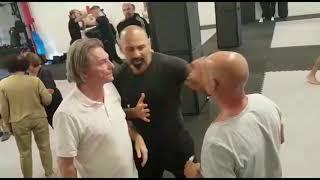 Selbstverteidigung Seminar Saarbrücken Fight Mentality Progressive Fighting Systems Ahmet Kaydul