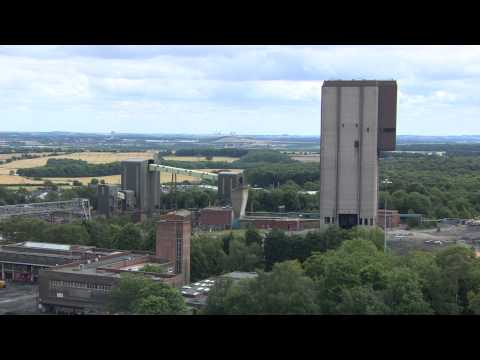 Maltby Pit Demolition BBC Look North (Yorks)