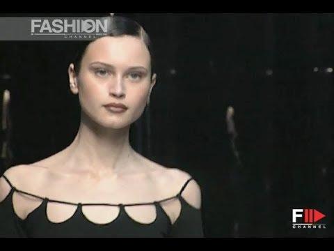 HERVÉ LÉGER Fall Winter 1997 1998 New York - Fashion Channel