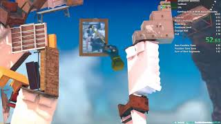 Getting Over It Speedrun in 2:14