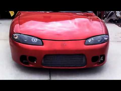 1999 mitsubishi eclipse gst turbo youtube. Black Bedroom Furniture Sets. Home Design Ideas
