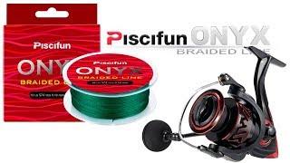 Катушка и плетенка для фидера с AliExpress Piscifun Honor XT 5000 Piscifun ONYX