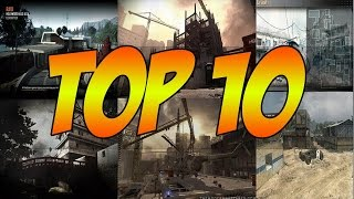TOP 10 Best Memorable Call of Duty Moments