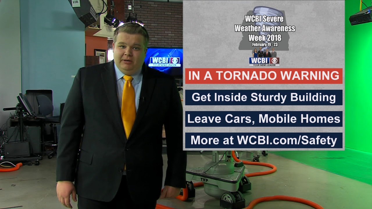 WCBI Weather Tips - Tornadoes