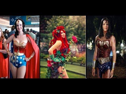 Best 2018 Wonder Woman Halloween Cosplay Costumes Ideas For Girls