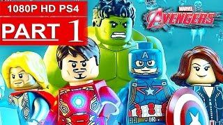 LEGO Marvel Avengers Gameplay Walkthrough Part 1 [1080p HD PS4] - No Commentary