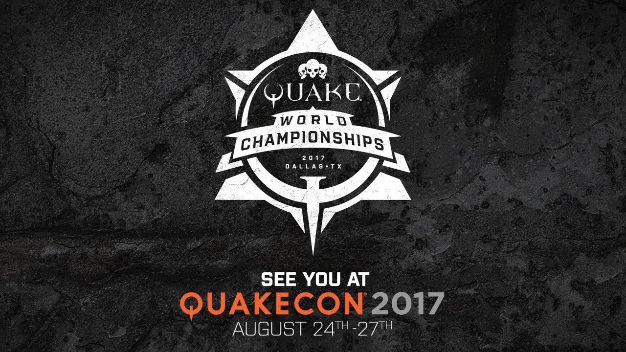 ESR - Quakecon 2017: Quake World Championship - Finals Day
