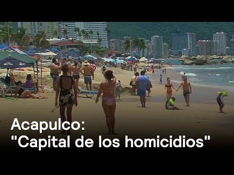 """Acapulco es nombrada """"la capital de los homicidios"""" por diario estadounidense"""