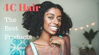 The Best Products for 4C Hair
