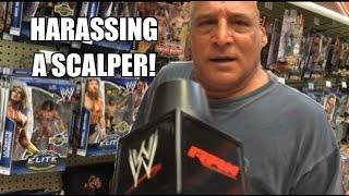 WWE ACTION INSIDER: ToysRus Scalper in Mattel Wrestling figure aisle! Hilarious Toy Hunt!