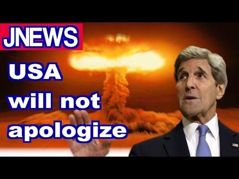 John Kerry will not apologize for Hiroshima (JNEWS!)