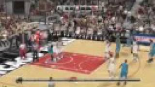 NBA 2K9 New Gameplay: Hornets vs. Bulls