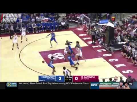10 Kentucky Vs South Carolina 2020 College Basketball Full Game Highlights Frankie Vision