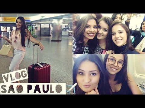 VLOG - Viagem São Paulo - 1° Dia Beauty Fair 2016