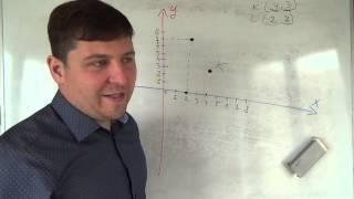Алгебра 7 класс. 24 сентября. Строим отрезок на координатной плоскости