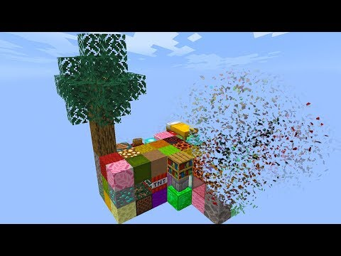 minecraft skyblock but every 60 seconds is a new item