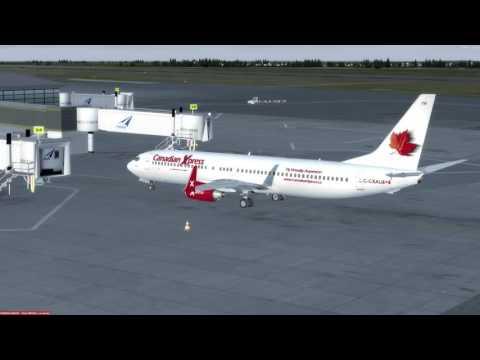 P3D v3.3 Boeing 737-900 Ottawa (CYOW) to Bermuda (TXKF)